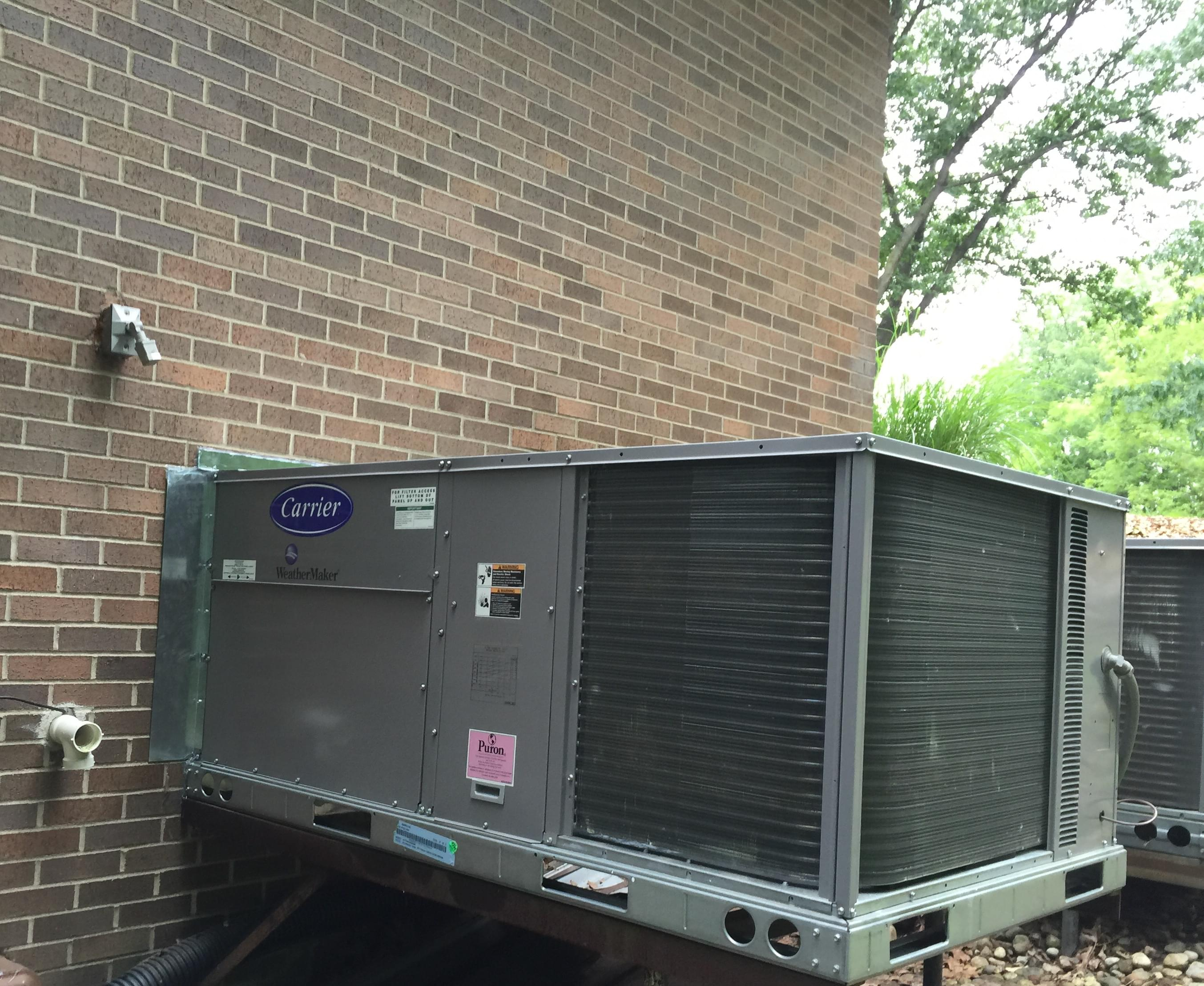 Carrier Commercial Packaged Unit