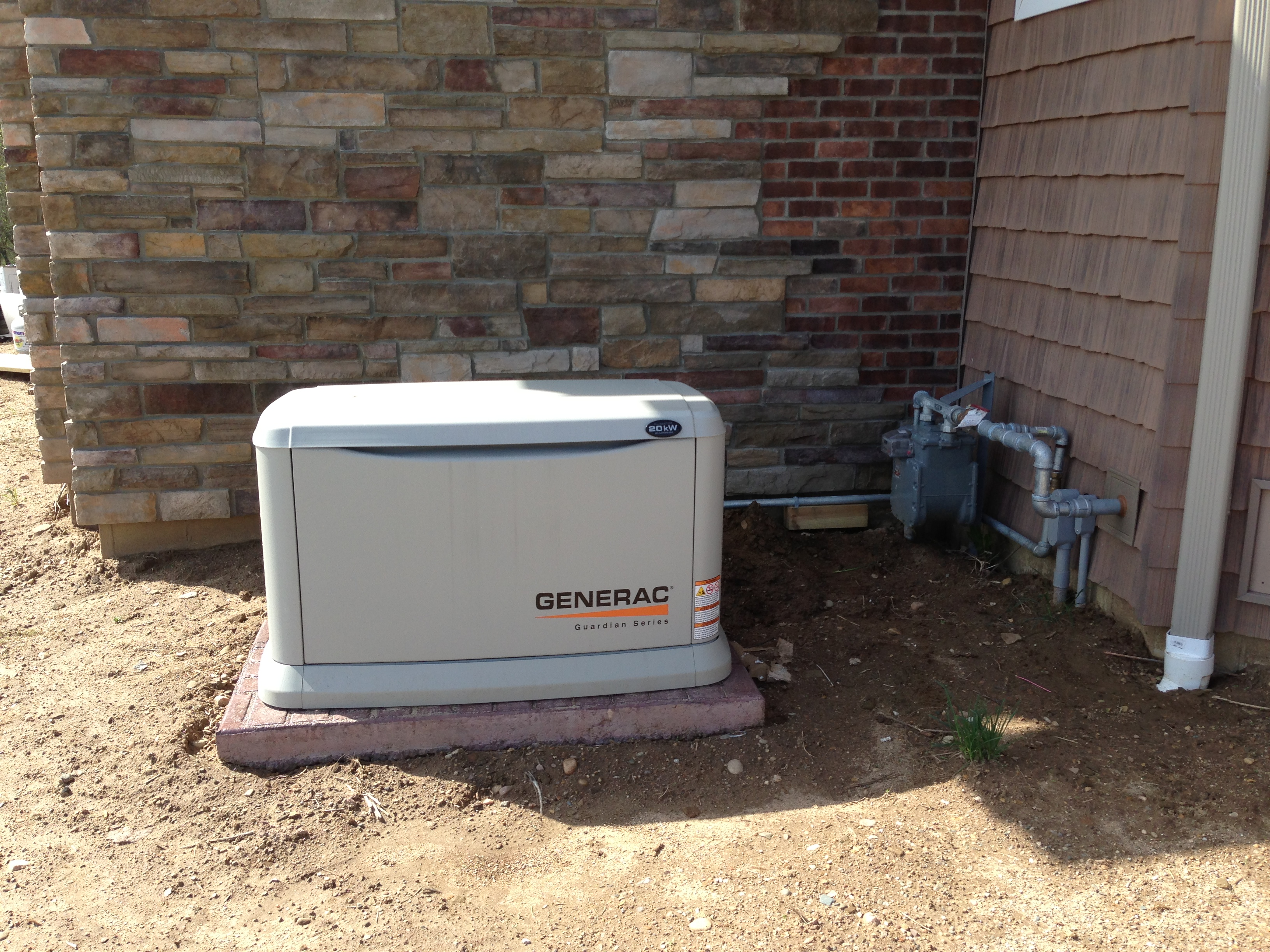 Commercial Power Generator Install