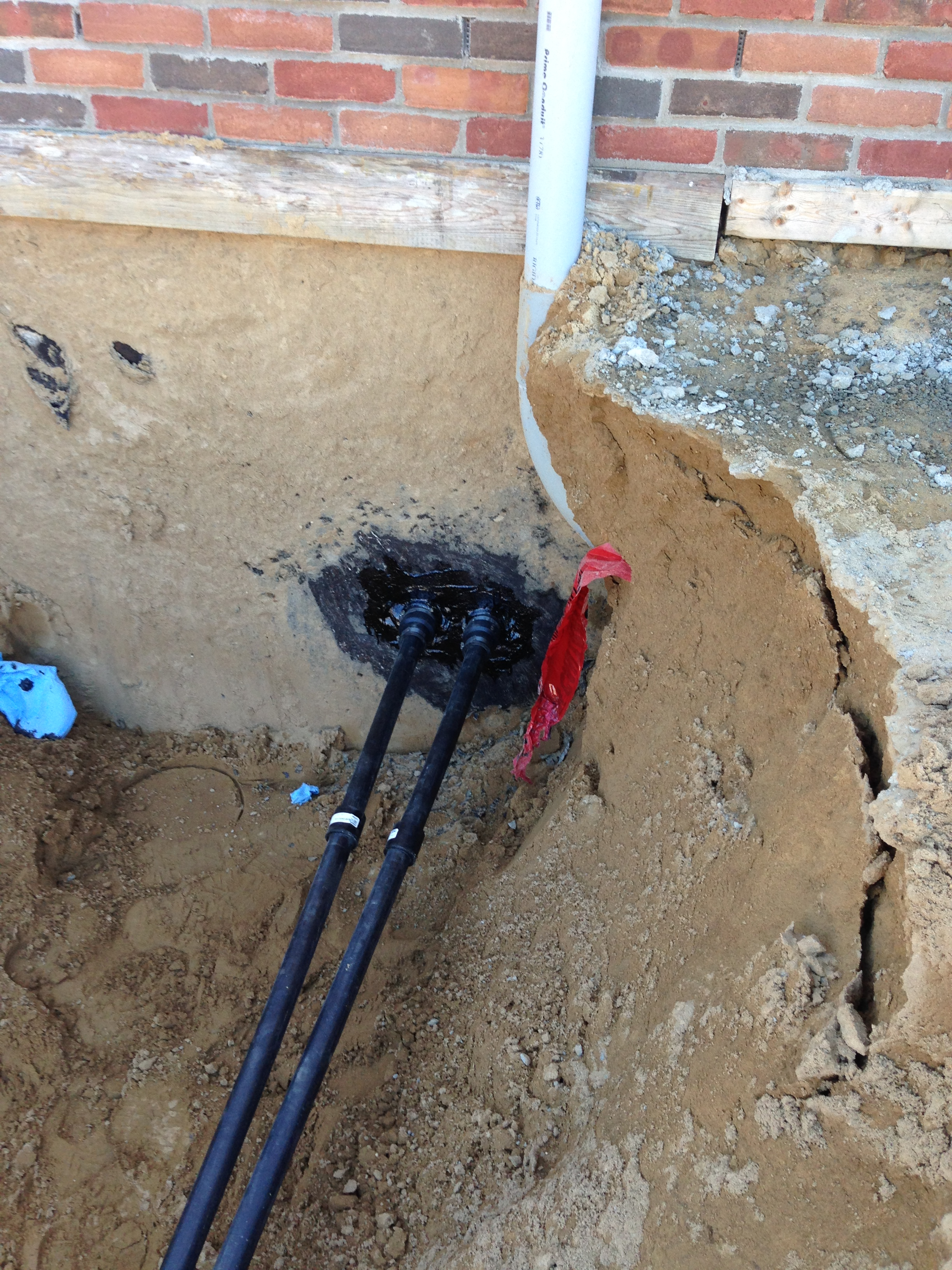 Goethermal Installation Home Loop Connection